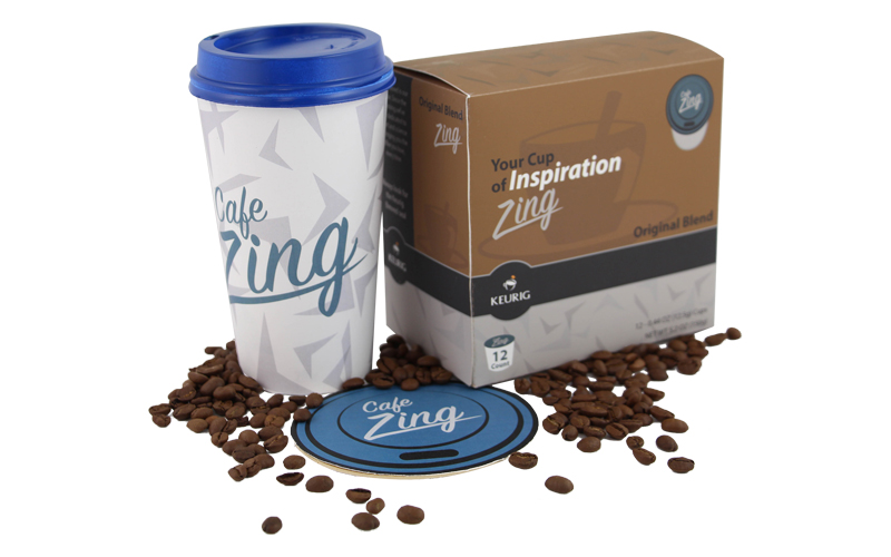 Cafe Zing Packaging