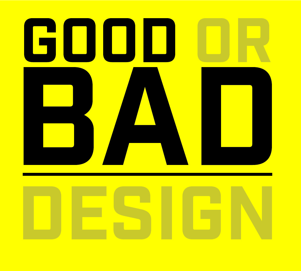 Good design, bad design, graphic design, Tyler Pacheco