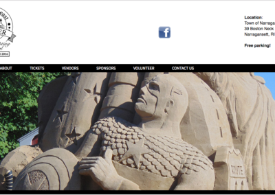 Sand-Sculpting-Website