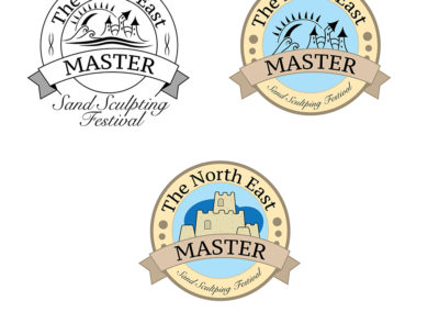 Sand Sculpting Logo variations